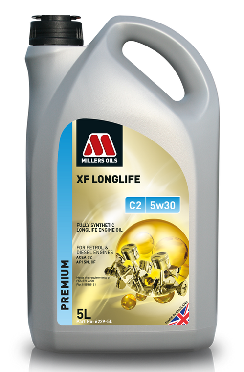 Millers Oils XF Longlife C2 5w30 Fully Synthetic Engine Oil - 6229