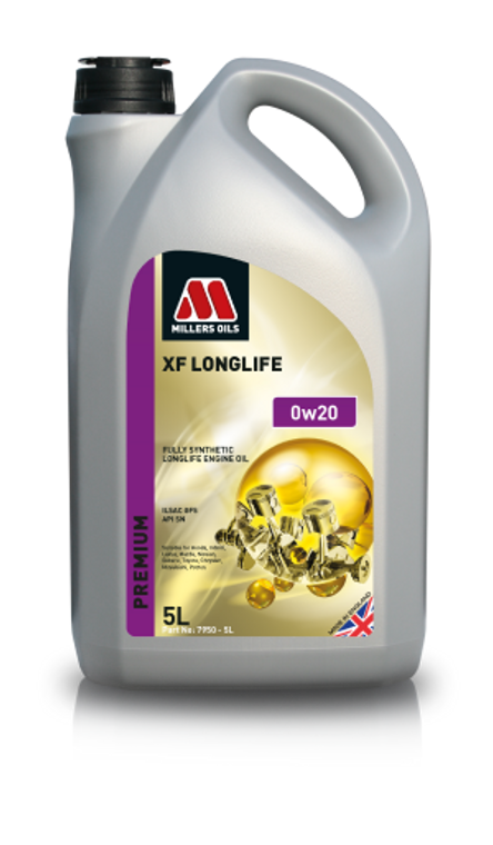 Millers Oils XF LONGLIFE 0w20 Fully Synthetic Oil