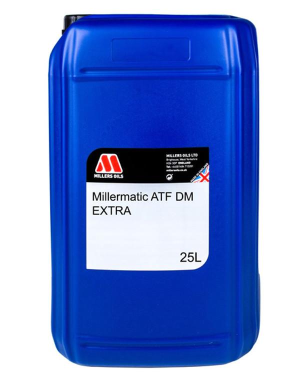 Miller Oils MILLERMATIC ATF DM 5548 25 Liter Jug. Premium Automatic Transmission Fluid technology blended into selected synthetic base fluids.