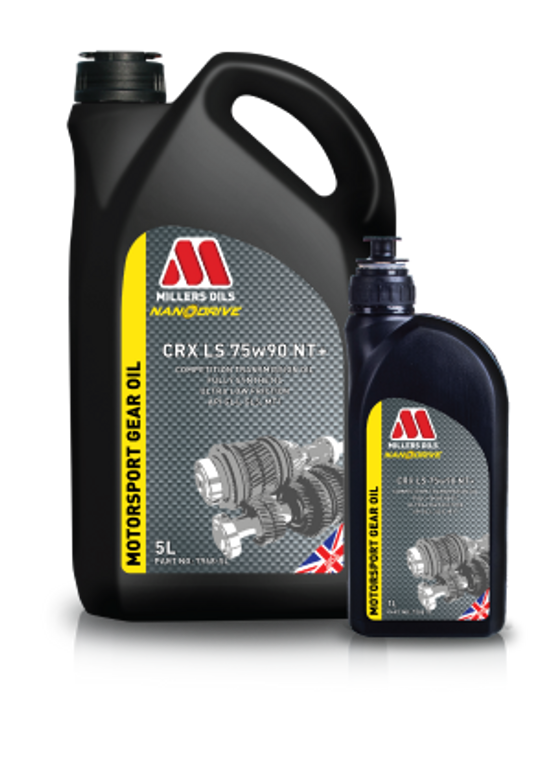 CRX LS 75w90 NT+ 1 Liter Bottle - M7968 - Competition fully synthetic transmission oil with friction modifiers for limited slip differentials.