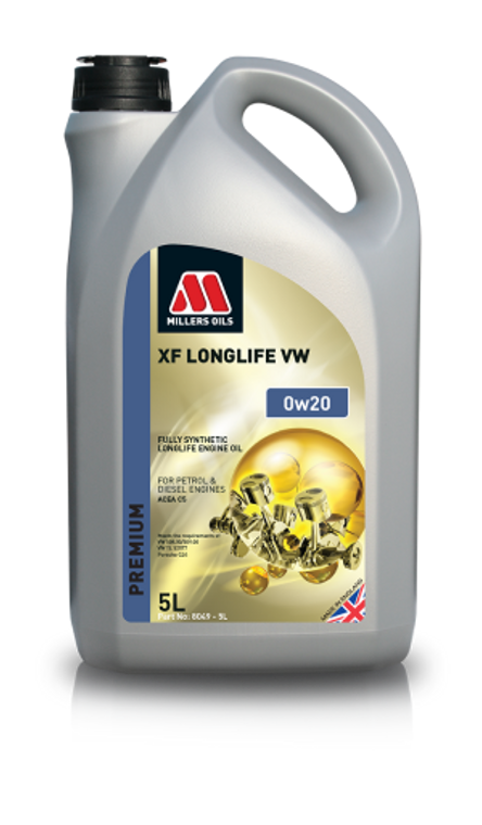 Millers Oils XF LONGLIFE 0w20 VW Fully Synthetic Oil