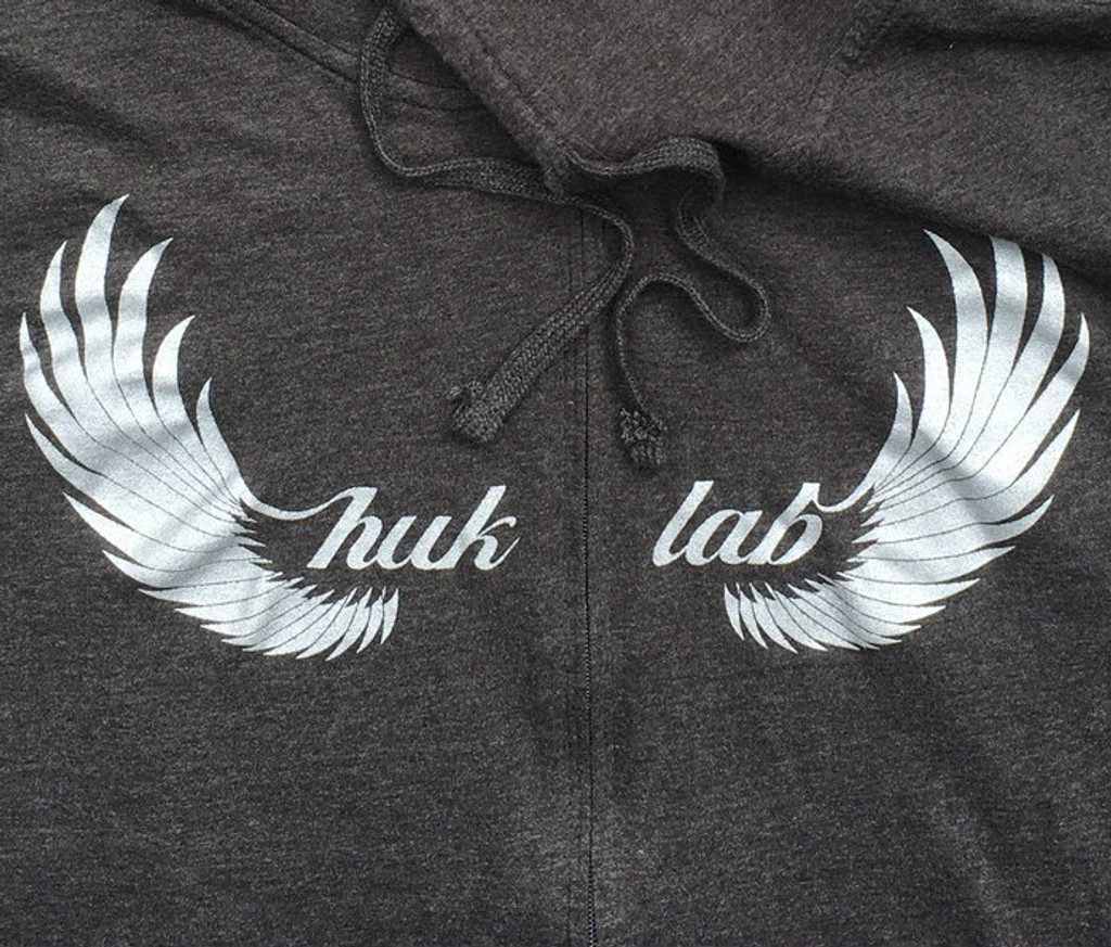 Huk Lab HukWing Ultralight Hoodie front wing graphic