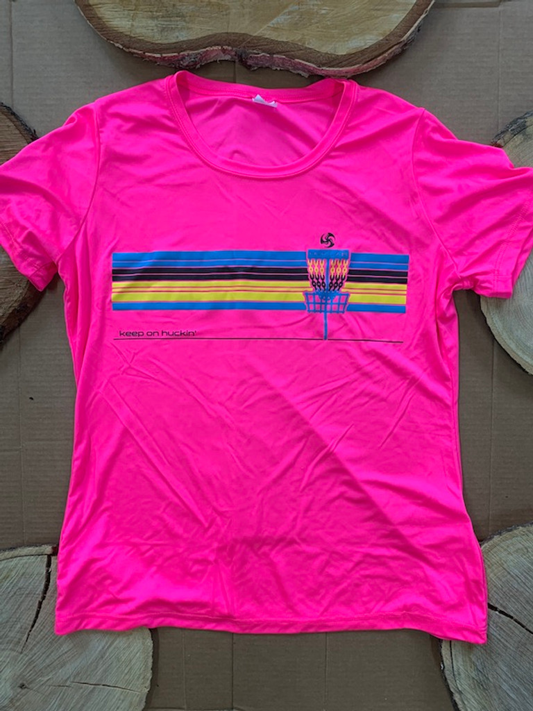 Pink Pinscape Dry Light Tee