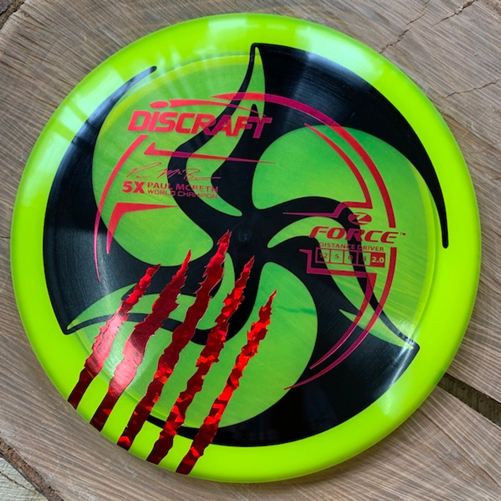 TriFly Dyed Paul McBeth 5X Z Force