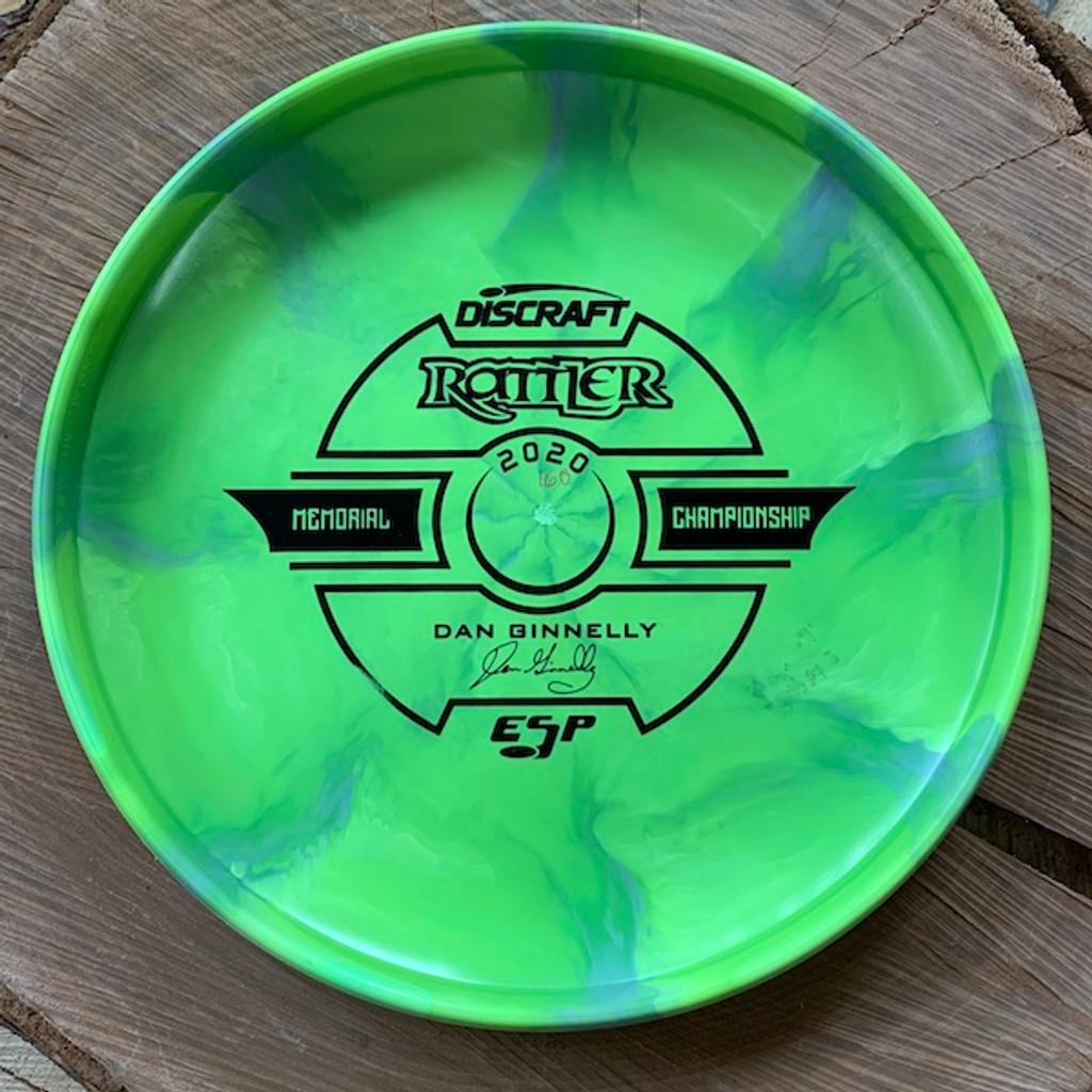 TriFly Dyed ESP Swirl Rattler bottom stamp