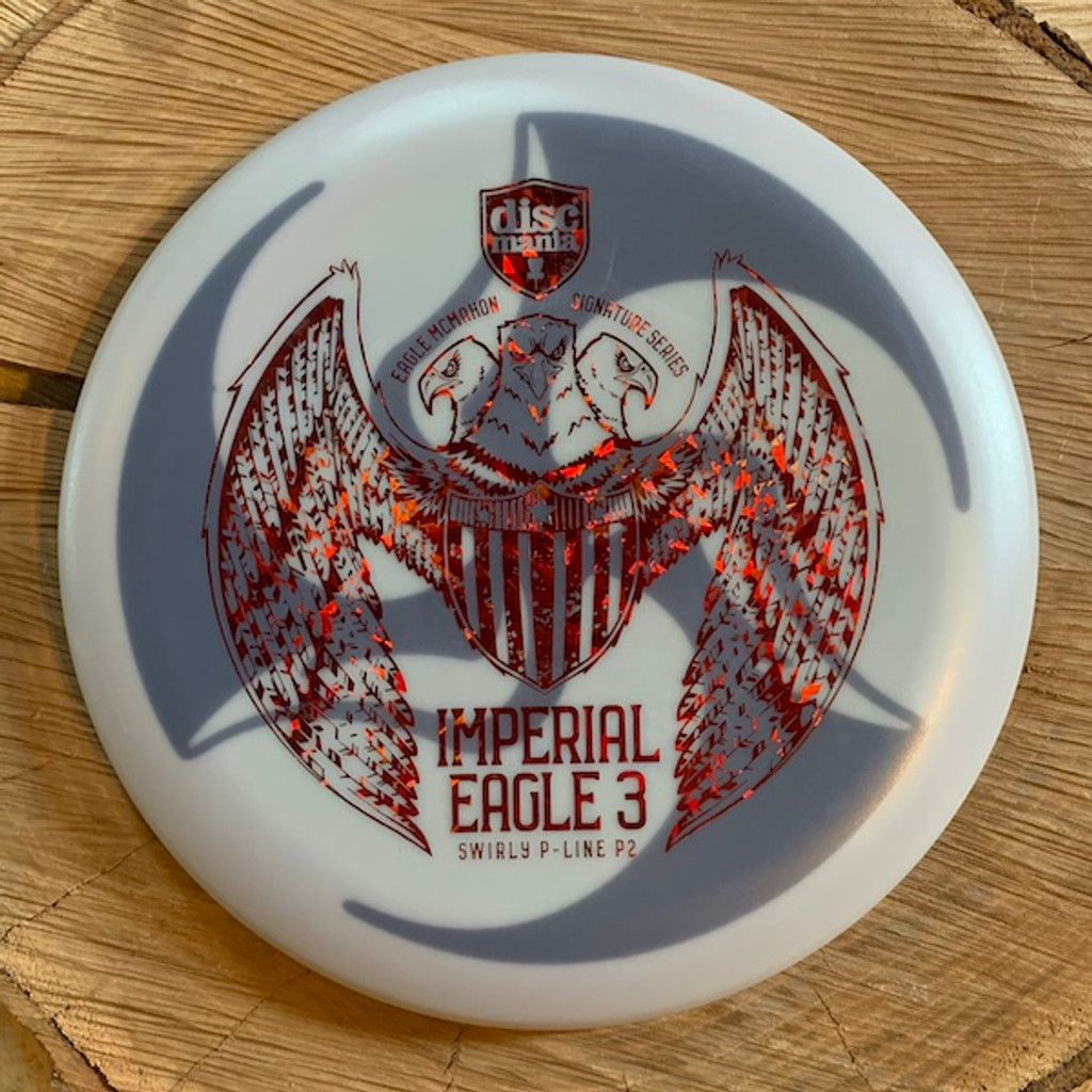 TriFly dyed Imperial Eagle Swirl P-Line P2