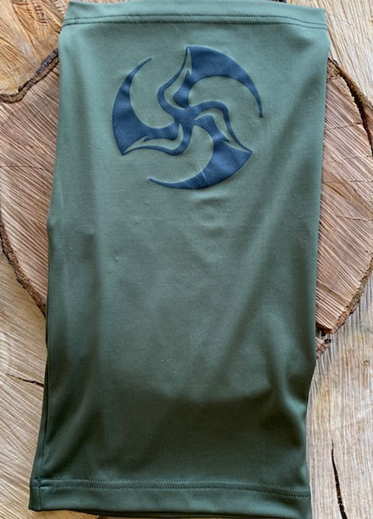 Huk Neck Gaitor with TriFly screenprint