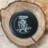 Innova DX Destroyer black with a matte white stamp