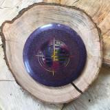 Innova Champion Metal Flake Krait purple with a rainbow Tim Selinske US Masters stamp