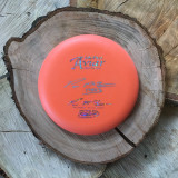 Innova First Release McPro Aviar orange with a silver hologram and silver autograph