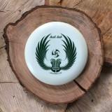 Innova Star Aviar white with a green Huk Lab GEN 003