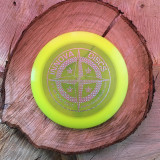 Innova First Run Champion Dominator yellow with silver hologram protostar stamp