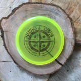 Innova First Run Champion V-Roc yellow with a camoconda proto stamp