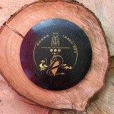 Innova Champion Metal Flake Destroyer black with gold 2012 Taiwan Disc Golf Championship stamp