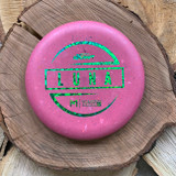 First Run Paul McBeth Jawbreaker Luna pink with green stamp