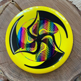 TriFly dyed Hypno stamped Discmania S-Line P2