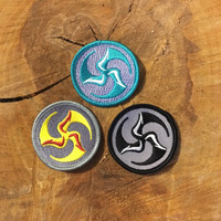 """2"""" Mini TriFly Patch trio of colors"""