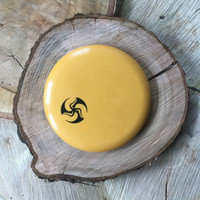 Gateway Evolution Wizard yellow with Huk Lab TriFly stamp