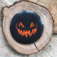 Innova Pumpkin disc black with orange stamp