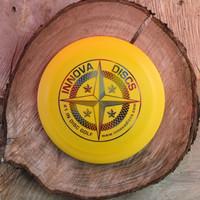 Innova First Run Star Teerex yellow with a rainbow protostar stamp