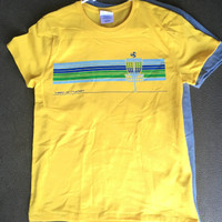 Womens Pinscape Tee Lemon