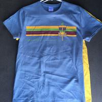 Womens Pinscape Tee Slate blue