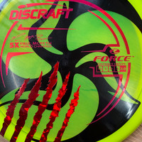 TriFly Dyed Paul McBeth 5X Z Force stamp