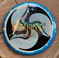 TriFly Dye Halo Destroyer Blue Rim