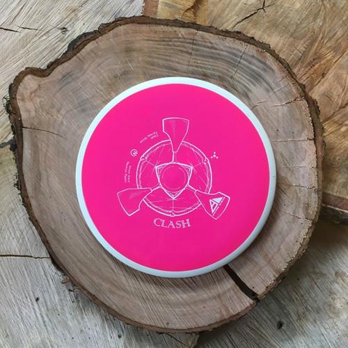 Axiom Neutron Clash pink core/ white rim