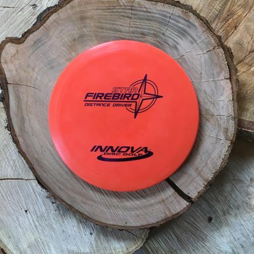 Innova Star Firebird orange Pre-Flight number stamp