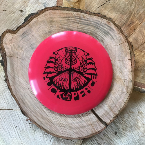 Innova Star Boss red with a black Huk Lab GEN 005 stamp