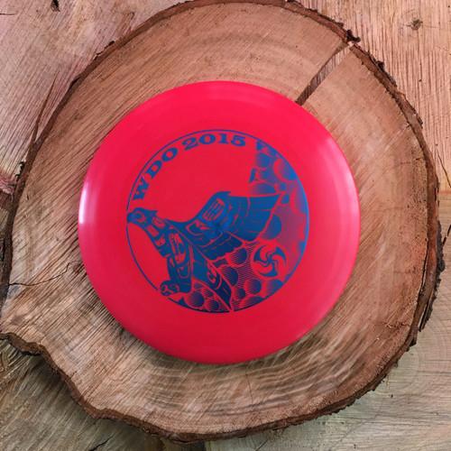 2015 Whistlin' Discs Open stamp