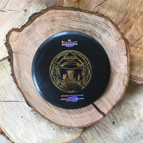 Discraft Elite ESP Wasp black with a gold 2003 Memorial stamp