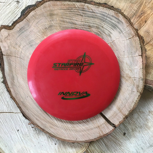 Innova Super Star Starfire red Pre-Flight number stamp