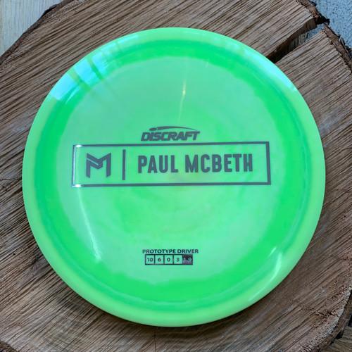 Prototype Paul McBeth Anax driver