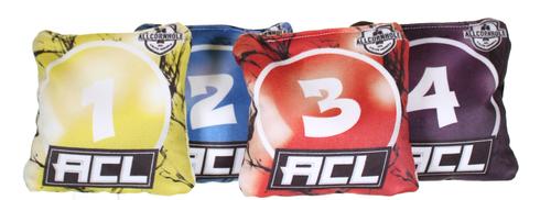 ACL 8 Bagger Challenge Cornhole Bag Set - SET OF 8 BAGS