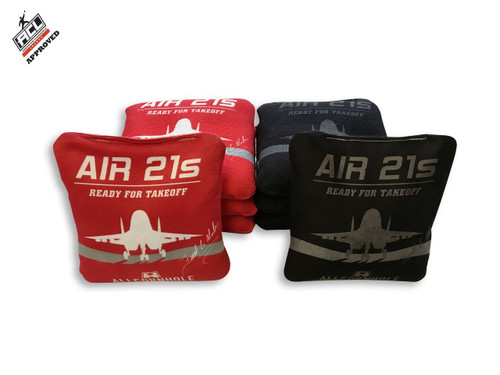 Air 21s Cornhole Bags by Frank Modlin