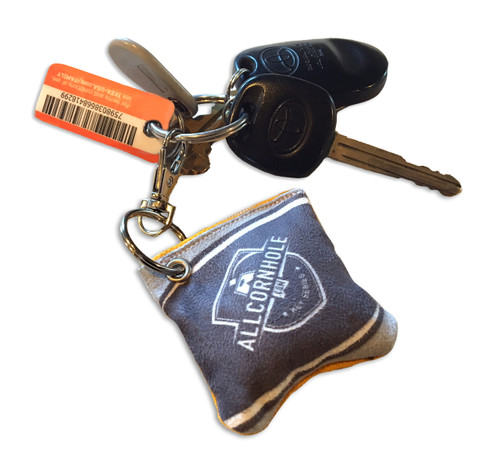 Cornhole Bag Key Chain