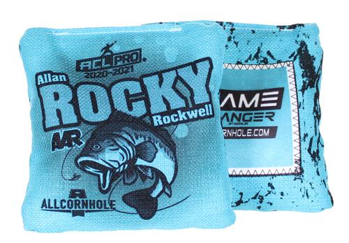 "Allan ""Rocky"" Rockwell GameChanger Cornhole Bags SET OF 8"