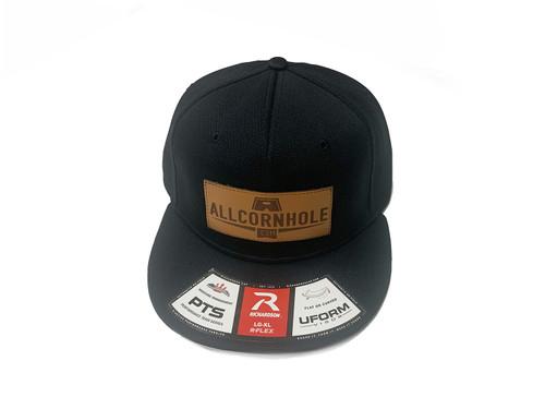 AllCornhole FlexFit Hat - Black - Free Shipping