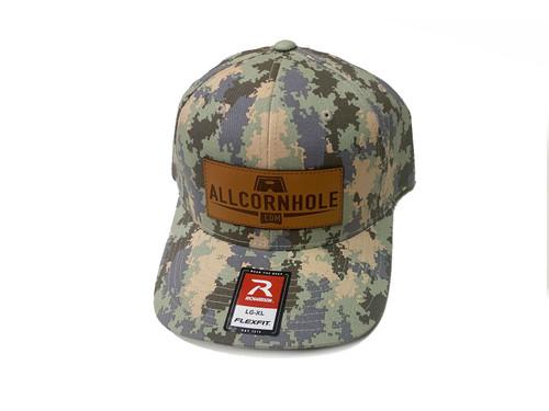 AllCornhole Digital Camo FlexFit Hat - Free Shipping