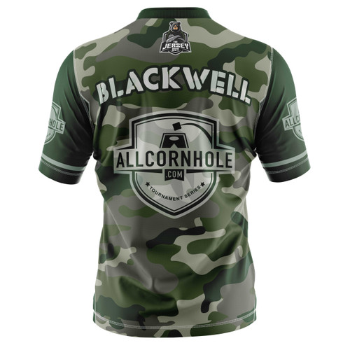 Official Camo Customized AllCornhole.com Jersey