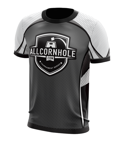 Gray Customized AllCornhole.com Jersey