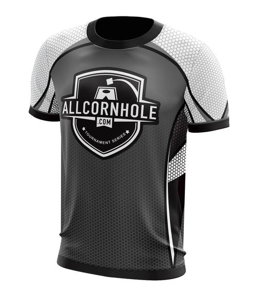 Gray Customized AllCornhole.com Jersey