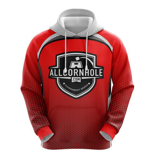 Red AllCornhole.com Hoodie