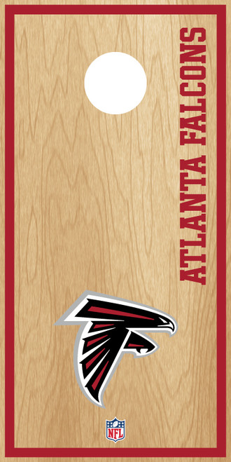 Atlanta Falcons Cornhole Boards -  ACL PRO NFL