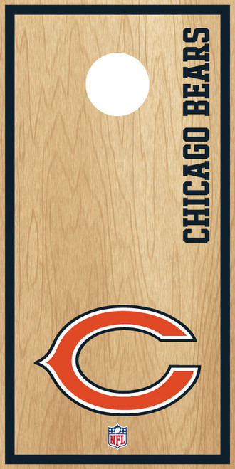 Chicago Bears Cornhole Boards -  ACL PRO NFL