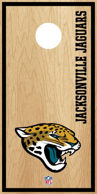 Jacksonville Jaguars Cornhole Boards -  ACL PRO NFL