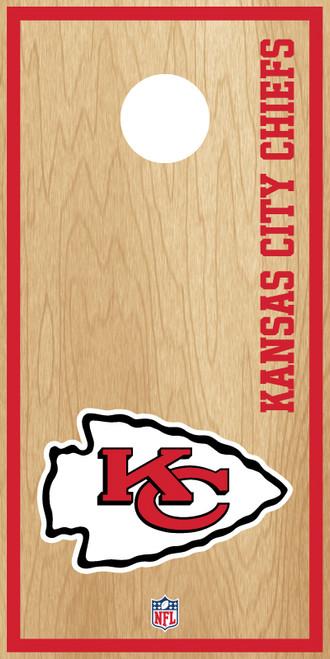 Kansas City Chiefs Cornhole Boards -  ACL PRO NFL