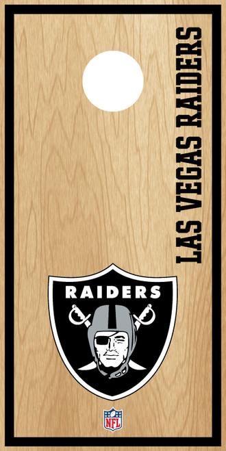 Las Vegas Raiders Cornhole Boards -  ACL PRO NFL
